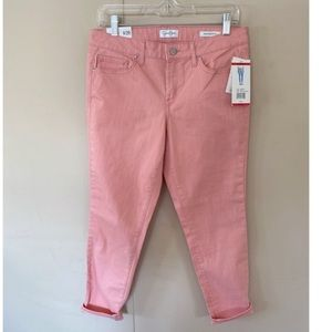 NWT Jessica Simpson Rolled Crop Skinny Jeans